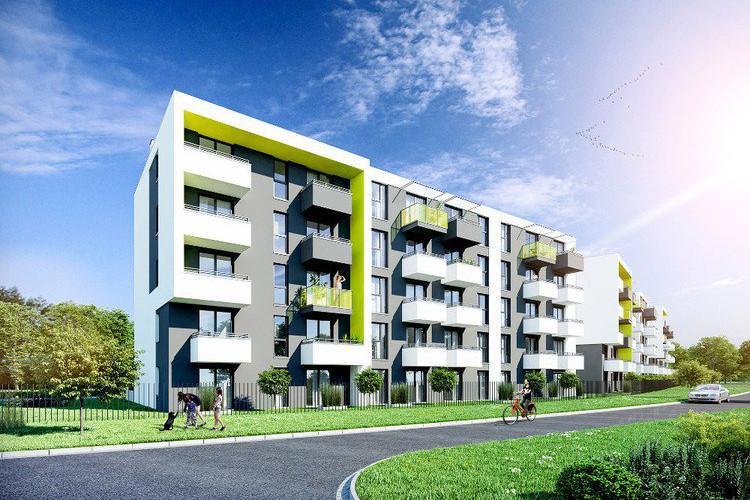 """""""Lemon House"""" – mieszkania w pobliżu zalewu Bagry"""